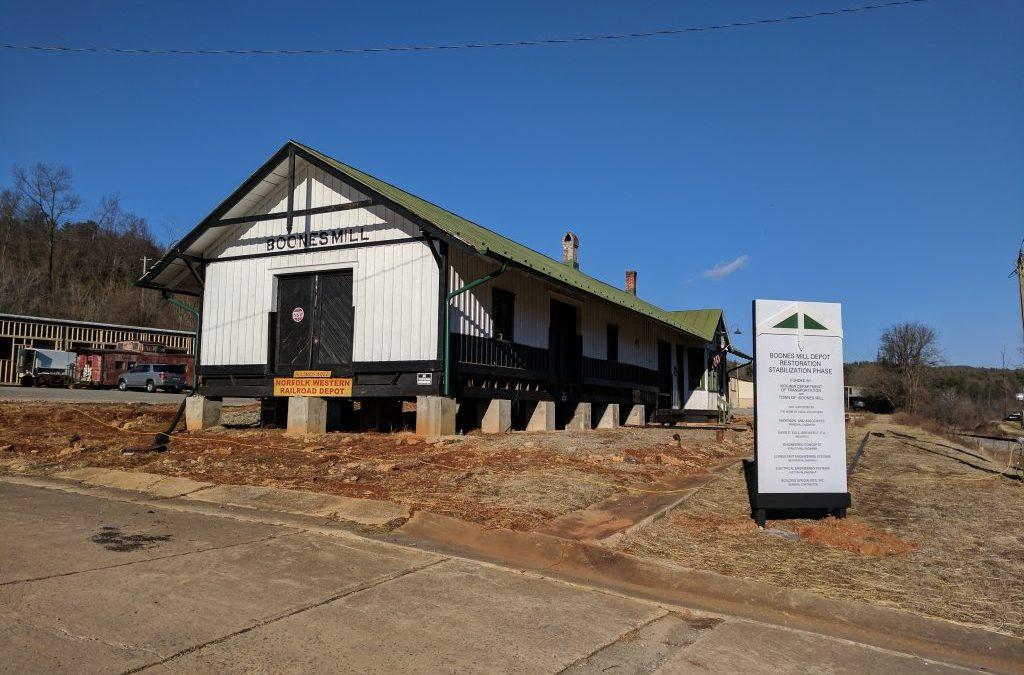Boone's Mill Train Depot
